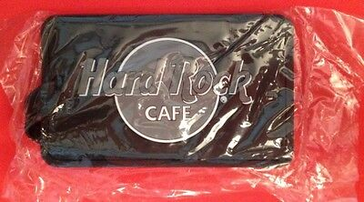 Hard Rock Cafe Luggage Tag Black and Gray White sturdy NIP NICE!