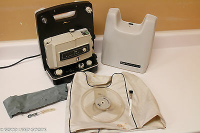 Vintage 1960s ELMO DUAL 8MM Super 8mm MOVIE PROJECTOR FP-A
