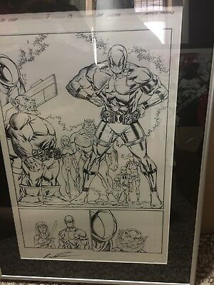 Dead pool Corps 7 Page 19 Rob Liefield Original Art