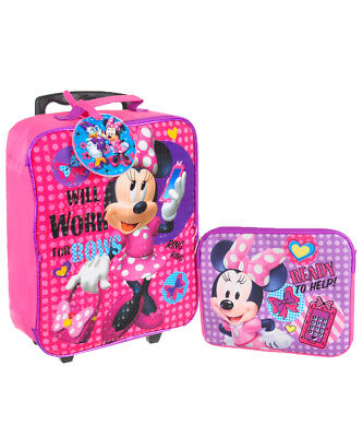 Minnie Mouse 3-Piece Luggage Set
