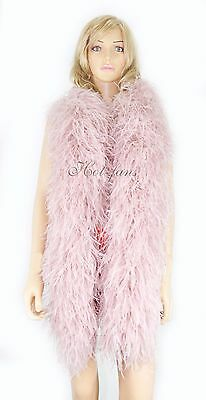 "20 ply Gorgeous full & fluffy Ostrich Feather Boa 71""long A+ Quality Burlesque"