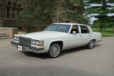 1985 Cadillac Fleetwood  1985 Cadillac Fleetwood Survivor with only 20,973 Original & Documented Miles.