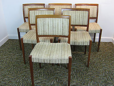 Retro Danish Teak Dining Chairs, Nils Jonsson for Troeds. Refurb Northants