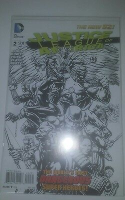 DC Comics! Justice League of America Variant, The New 52! #2 2013.