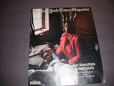 1991 New York Times Magazine-Four Generations In The Projects