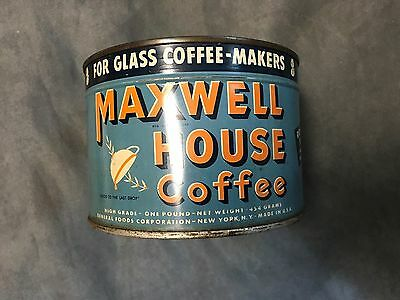 Maxwell House Coffee Unopened Key Can