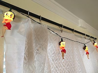 Betty Boop String Lights 10-light vintage pop culture piece cute 90s christmas