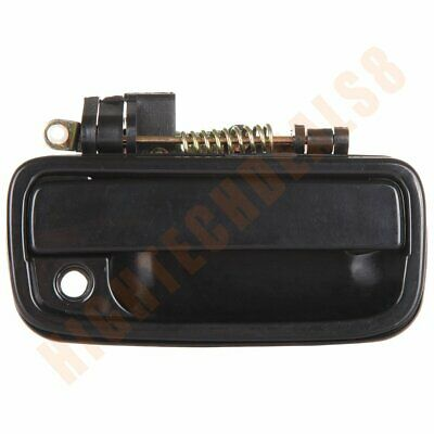 Black Door Handle Front Outside Right Passenger Side For 1995-2004 Toyota Tacoma
