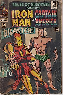 Tales of Suspense 79 - 1966 - 1st Cosmic Cube - Kirby - Very Good +