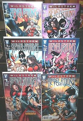 Wildstorm Comics REVELATIONS #1 2 3 4 5 6 FULL SET Beatty GAGE Complete NM 9.4