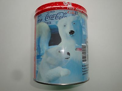 New & Sealed!  Coca-Cola Jigsaw Puzzle In Collectible Tin Can--Polar Bear Design