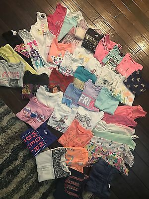 Girls Lot (67 pieces) Of Clothes 5-6