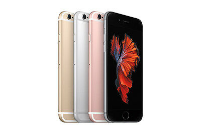 New Apple iPhone 6s 16GB GSM Factory Unlocked Smartphone Gray Silver Gold Rose