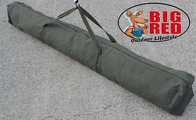 TENT POLE BAG  extra long 1760mm    -  HEAVY DUTY - 14 oz. CANVAS - NEW