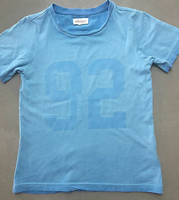 Boys size 8 blue milkshake tee - excellent used condition