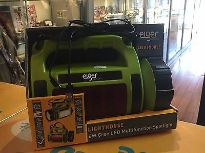 Eiger Lighthouse (Ehs5990C) 6W Cree Led Multi Function Spotlight As New !