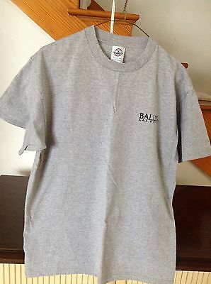 Bally's Las Vegas Gray Short Sleeve Tee Shirt Size L NWOT