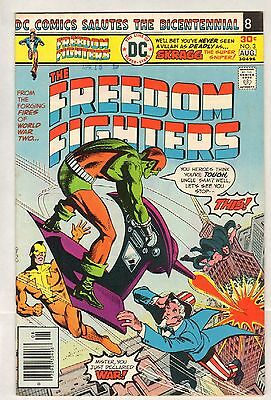 Freedom Fighters #3 (FN/VF) (1976, DC) [b]