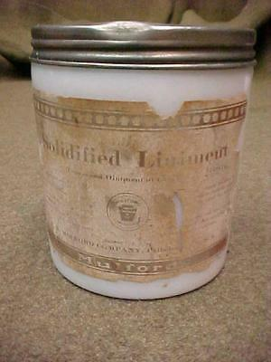 H K MULFORD SOLIDIFIED LINIMENT OINTMENT of CAPSICUM Milk White Jar #2 ORIGINAL