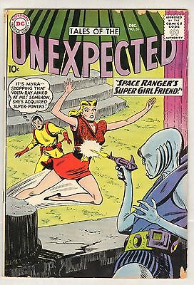 Tales of the Unexpected #56 (VG) (1960, DC) Space Ranger!