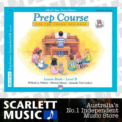 ABPL Alfreds Basic Prep Course Piano Lesson Book Level B Alfred's *WITH CD*