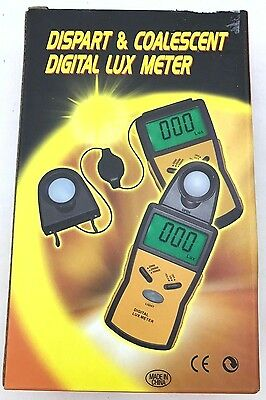 Dispart & Coalescent Digital Lux Meter FREE SHIPPING