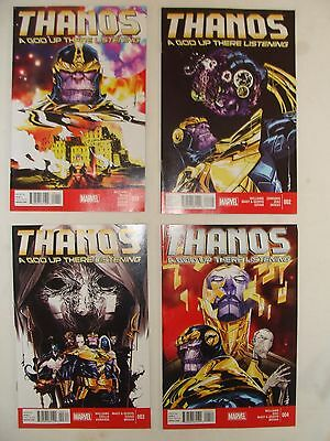 Thanos 1 2 3 4 - A God Up There Listening Complete Set - Unread Near Mint