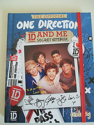 The Official One Direction 1D and Me Secret Notebook (hardback 2013)