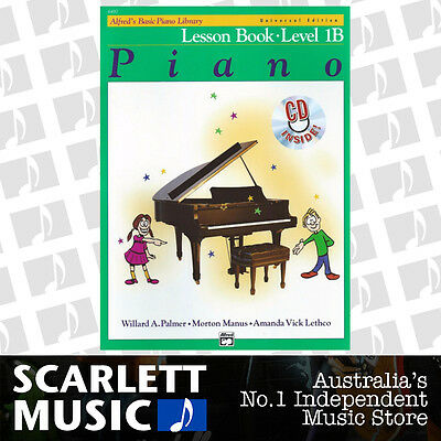 ABPL Alfred's Basic Piano Library Lesson Book Level 1B Alfreds *WITH CD*