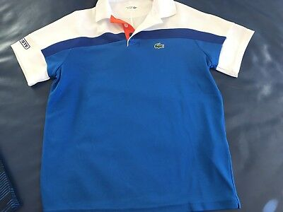3 Boys Sz 12-14 Lacoste Junior Gautier Tennis Tops Tees NWOT