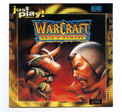 Warcraft - Orcs and Humans - Blizzard Entertainment CD-ROM