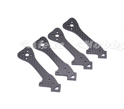 FPV Replacement Arms Carbon Fiber Arm 4mm for GEPRC Leopard GEP-LX5 GEP LX5