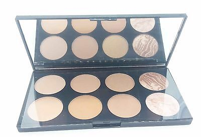 Makeup Revolution All About Bronze. 8 Powders Contouring Palette  (G5-0497)
