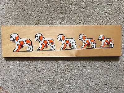 Pre-School Children's Kids Toddler - Wooden Puzzle - Dogs