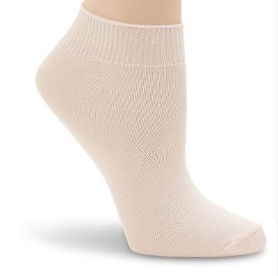 Capezio Child 2 pairs Essentials Dance sock Salmon Pink sz4 BNWT (4)