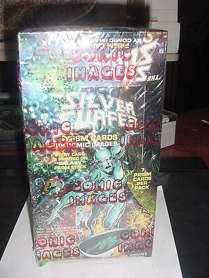 SILVER SURFER Prism Cards  by Comic Images NEW FACTORY SEALED (1992) Marvel