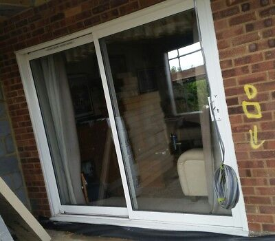 Leaded patio doors picclick uk for Double glazed upvc patio doors