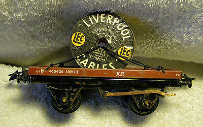Hornby O gauge wagon Liverpool Cables
