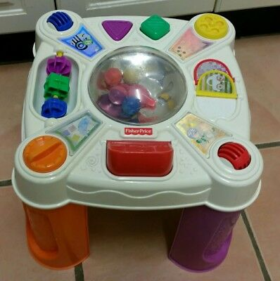 Fisher price musical baby activity table.