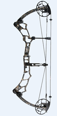 Topoint Ts350 30-70Lb Compound Bow Hunting Target Archery 350Fps Cnc Riser