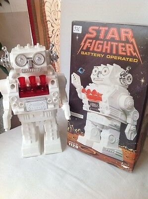 Made in Hong Kong GSR Robot Star Fighter, TOP Condition !