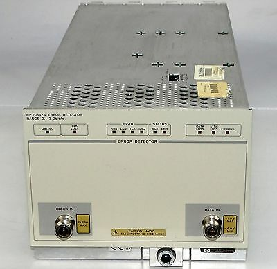 HP 70842A Error Detector module for 70000 series 100 MB/s to 3 GB/s