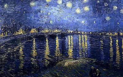 Beautiful starry night / wall Canvas print Home Decor quality choose  size