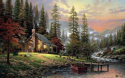 Peaceful home painting   / wall Canvas print Home Decor quality choose  size