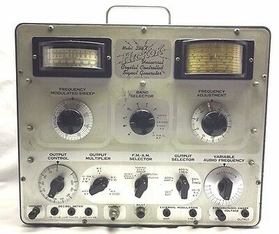 Hickok 288X Universal Crystal Controlled Signal Generator