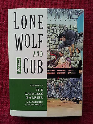 Lone Wolf And Cub Gateless Barrier 1st Edition 2000 VF/NM