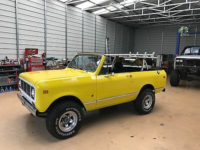 1979 International Harvester Scout  1979 International Scout II FRAME OFF RESTO! Mint Condition! Corvette Yellow!