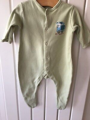 Baby Boy's Clothes 0-3 Months - Set Of 3 Mothercare Babygrows/Sleepsuits