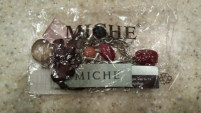Miche Hope Red/Pink Purse Charms Key Chain Charmers