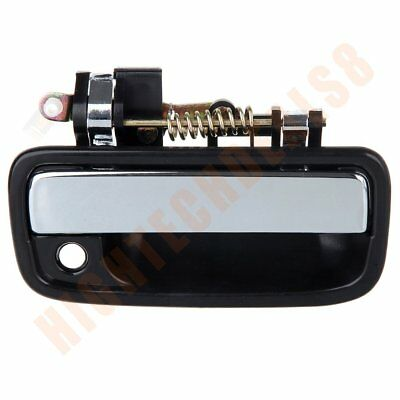 For 95-04 Toyota Tacoma Door Handle 1Pc Front Right Side Exterior Black